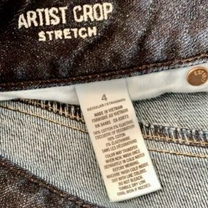 Gently Used AE Cropped Jean
